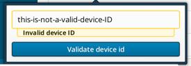 Engage: Single Device Validation