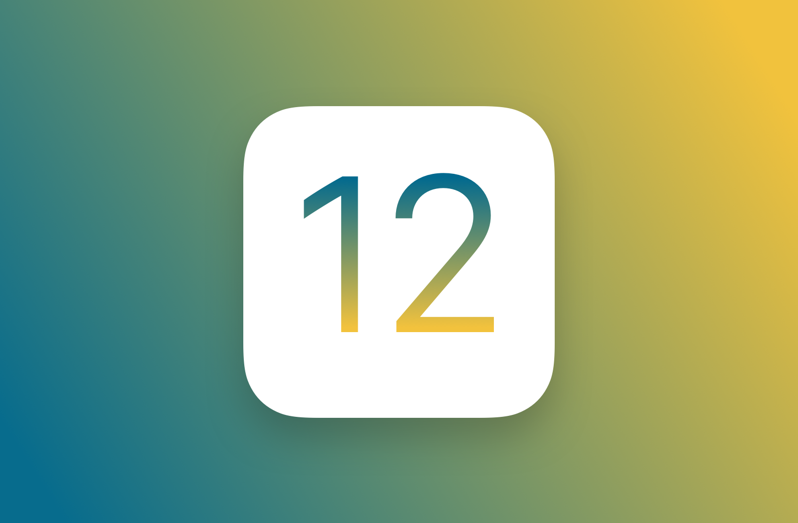 iOS 12 Support