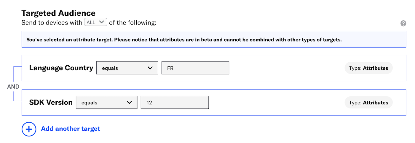 Target Your Audience Using Attributes