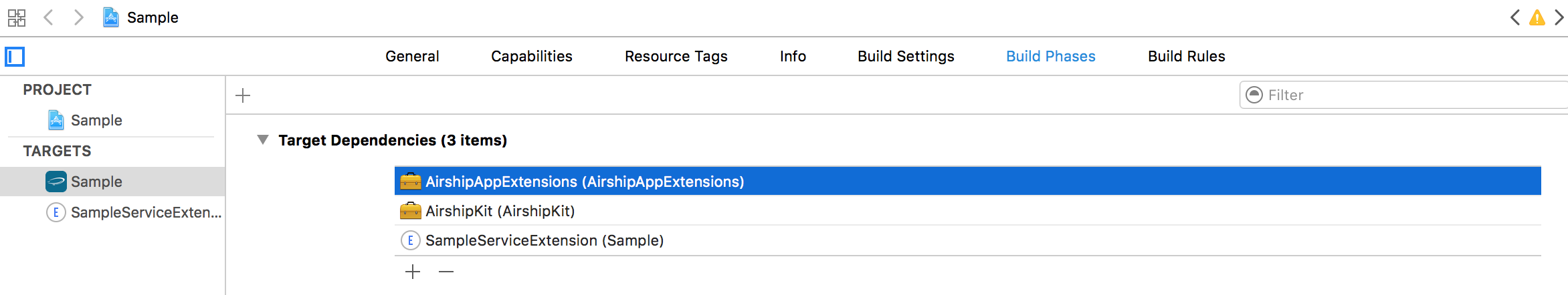 iOS Notification Service Extension