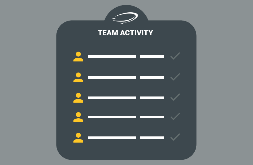 Engage Team Activity Log