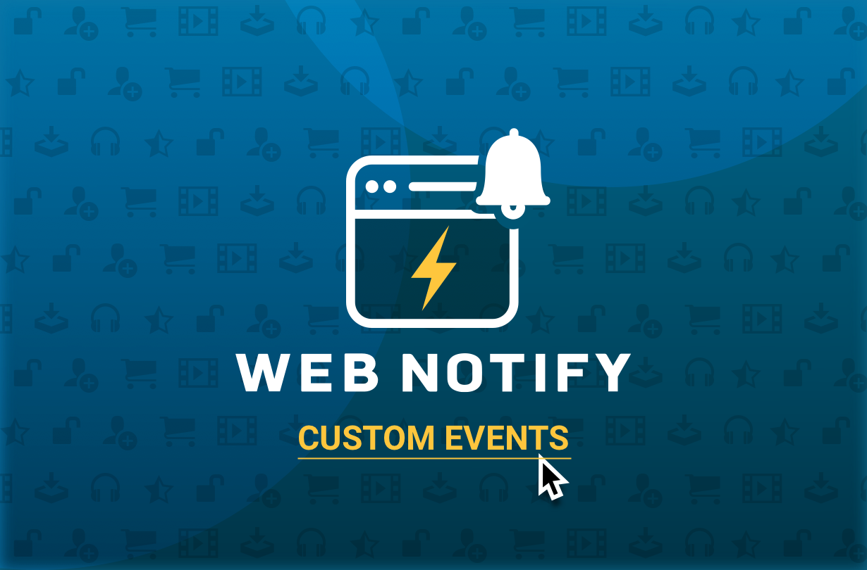 Web Notify Custom Events