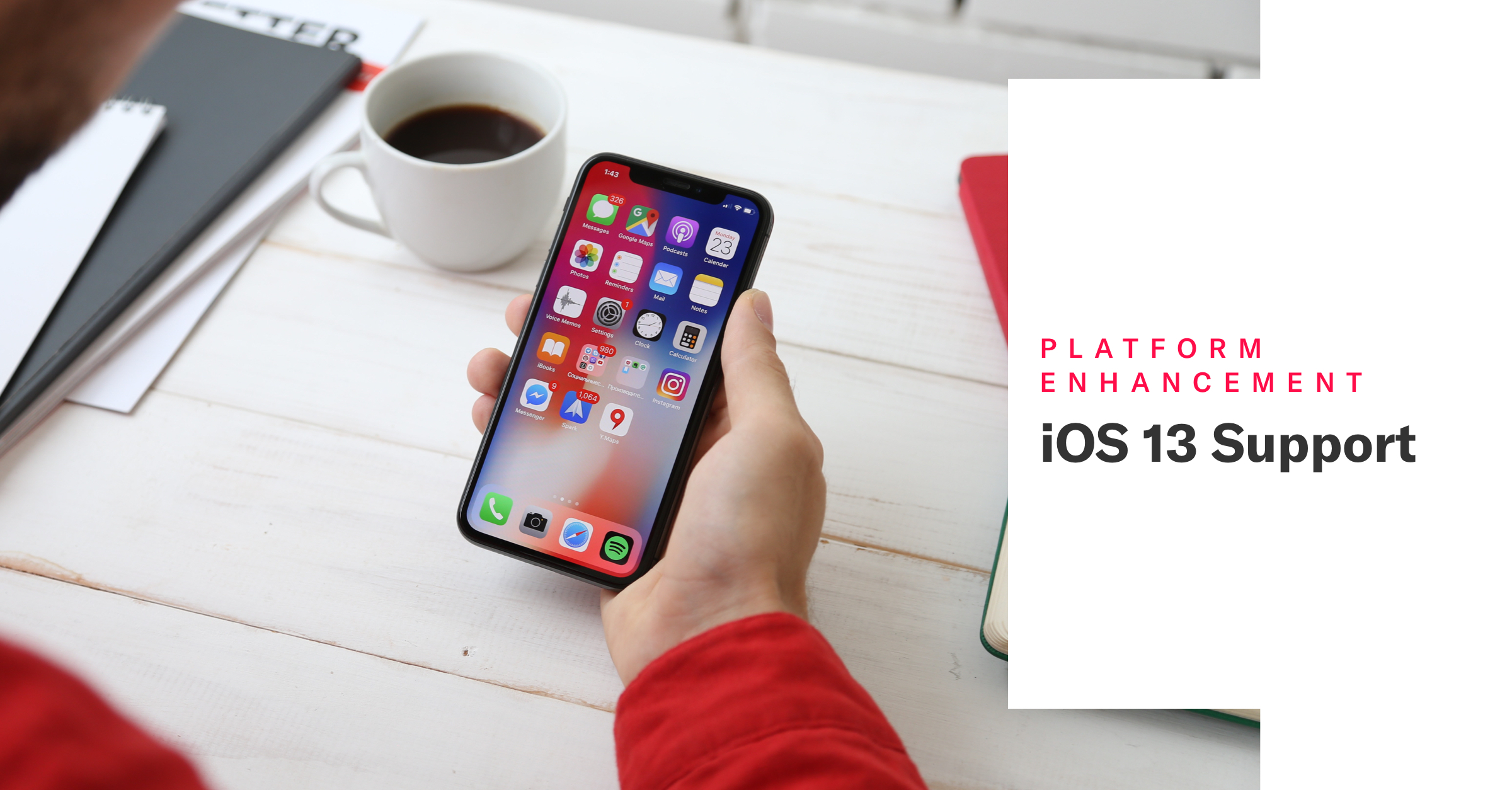 iOS 13 Support