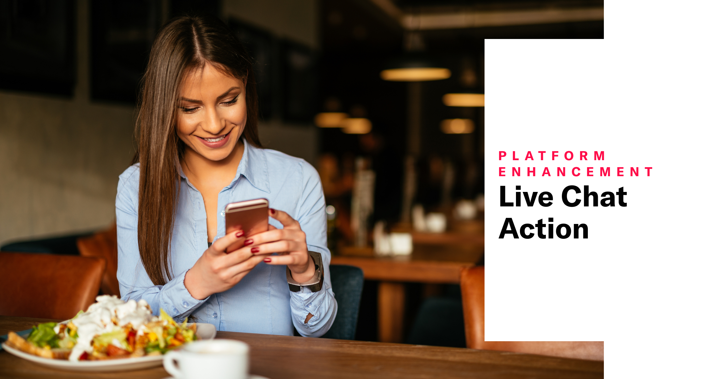 Live Chat Action and Contact Profiles